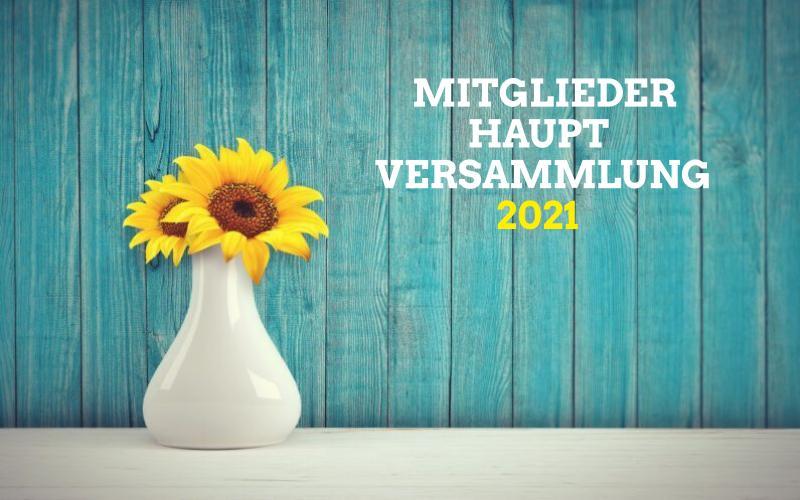 Mitgliederhauptversammlung 2021